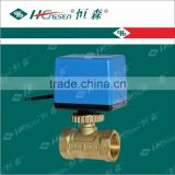 D Q F-C3 Brass Motorized Ball Valve with for Heating, Ventilation and Air-Conditioning System/HVAC controls products