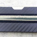 Carbon Fiber RFID blocking credit card holder wallet