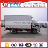 3TON JAC small refrigerated cold room van truck