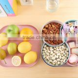 New designed plastic candy box with divider dry fruit container