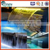 Water decoration led lighting with led light strip spa water indoor waterfalls for homes