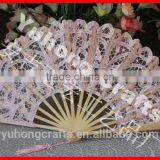 Wholesale lace hand fan for promotion