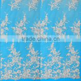 Wholesale african lace dress fabric clothing material in best selling