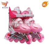 KIDS inline skating roller skate shoes price factory supplier