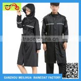 2015 Heavy Duty Ladies Fashion Sex Hooded Long Nylon Raincoat For Men