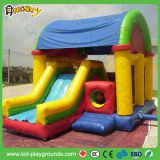 2017 bouncy castles combo with slides from china factory/inflatable jumping castles/Amusement park kids game inflat
