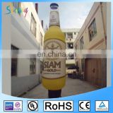 15ft Giant inflatable Bottle Air Dancer With Blower For Advertising