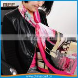 155*50cm elegant imitation silk College girls stylish scarf