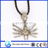 Fashion animal spider pendant necklace 2015