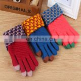 wholesale popular Knitted Touch Screen Winter Glove
