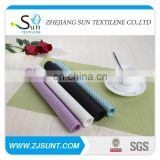 Hot sale green 4x4 heavy PVC placemat in 2015