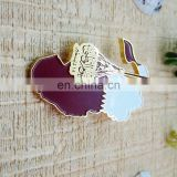 2016 Wholesale Custom Lapel Pin Qatar national day magnetic badge