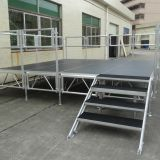 2018 RK Adjustable Aluminum Portable Truss with Aluminum stage for outdoor event performance