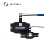 china manufacturing JKTL carbon steel fully welded ball valve with gear