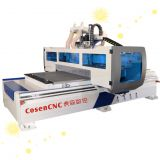 ATC 2 spindle switch woodworking cnc router boring group center