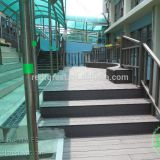 WPC composite Outdoor patio decking  floor material for home building