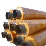 Black and yellow jacket insulation pipe and composite thermal insulation pipe of spot sale