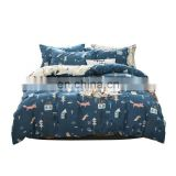 Designer Brand Luxury Waterproof 100% Cotton Bed Plaid Quilt Duvet Cover Set