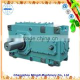 H/B Serial Helical / Bevel Transmission Gear box Parts With Electric Engine motors with reduction gear for plane compressors