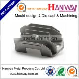 CNC machining sand blasting die casting motorcycle spare parts heat sink aluminum radiator