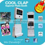 Cool Clap Foldable Photo Booth For Wedding Party Events Rental Business