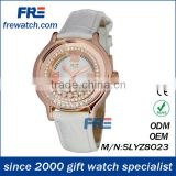 Crystal ladies ribbon watch
