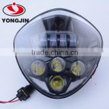 China supplier led motorcycle headlight for Polaris Victory Motorcycle