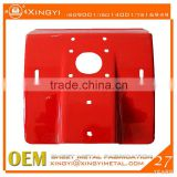 Motor cover / Red powder coat precise sheet metal product / customed metal stamping parts