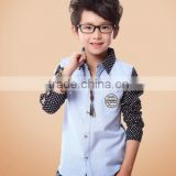 Fashion Preppy Style Kids Clothes Boy Shirts