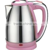 NK-K927 Kettle Pink,electric kettle,1.8 liter,S/S body,color plastic,water heater