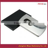 Laser Engraving Company Logo Metal business card holder,name card case                                                                         Quality Choice