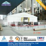 20m Easy to install air conditional system event roof top tent sale by Guangzhou tent factorty