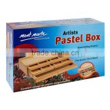 Mont Marte Pastel Box 3 Drawer Birch Wood