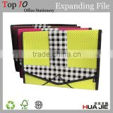 PU mesh business A4 expanding files document portfolio case paper file folder