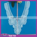 Wholesale machine embroidery cotton lace crochet patterns collar neck