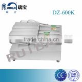 professional Stainless steel double chamber rooms frozen food vacuum packer with BUSCH pump