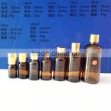 Empty amber essential oil bottle all sizes glass bottle                                                                                                         Supplier's Choice