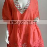 ladies sexy chiffon mature beach kaftan dress