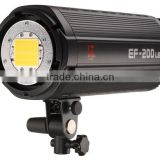 Jinbei 200W Photo Studio LED Continuous Light Source, Sun Light, 5500K 3200K with Remote Control Photographic Equipment