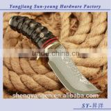 Outdoor fixed blade survival camping hunting tactical knife