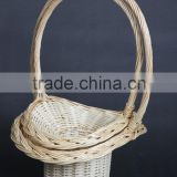 Natural Color Beautiful Design Basket Wicker Willow from Linyi Factory Direct supply