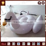 Amezing design water floated inflatable giant swan