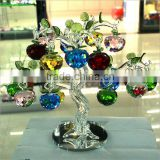 Fashion K9 Crystal New Design Crystal Apple Tree for Home                                                                         Quality Choice