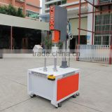 chocolate packing cylinder bottom welding machine,plastic cylinder ultrasonic welding machine