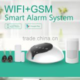2016 home entertainment and protection WIFI wireless alarm system,workable with home appliances via App