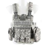 Best quality MOLLE army combat military bulletproof tactical gear vest CL4-0035 for outdoor shooting or war games