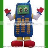 2015 Guangzhou supplier cheap adult inflatable christmas cartoons