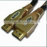 customized 7m ul 20276 HDMI Cable with gold-plated connector for 3d led tv