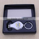 High quality straight cut nail clipper/ blank finger nail cutter clipper with epoxy sticker logo                                                                                                         Supplier's Choice