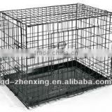 Indoors Powder Coated Foldable Dog Kennel(factory in Guangzhou)